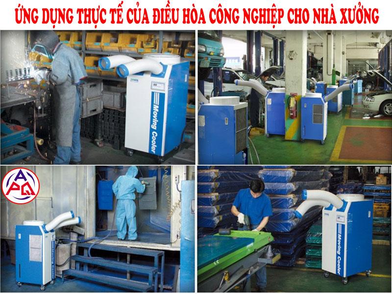 Điều hòa công nghiệp cho nhà xưởng
